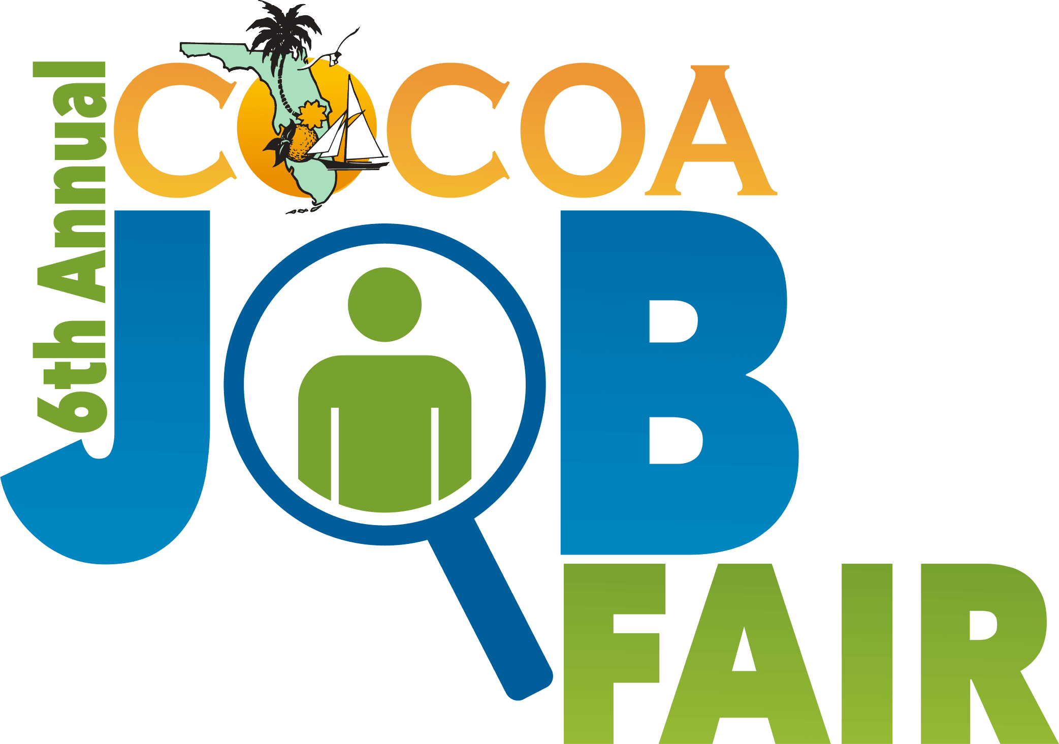 6th Annual Cocoa Job Fair logo